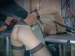 bdsm domination tied redhead bondage