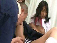 asiático fetiche hospital lencería
