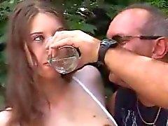 alemão jovens de idade nudez em público