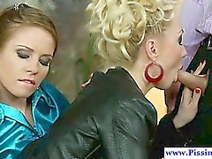 blonde blowjob brunette fetish hd