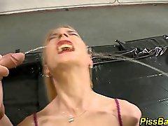 blonde blowjob fetish