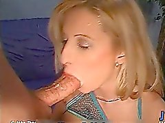 Busty blonde slut gets horny sucking part4