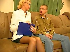 russisch blond zuigen volwassen panty