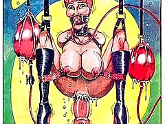 bondage big tits cartoon big cock
