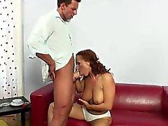 babe big boobs blowjob
