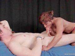milf redhead big-tits