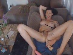 shemale big cocks masturbation sex toys enjoys