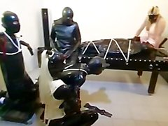 latex tied-up european