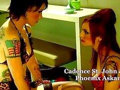 emo gothique lesbiennes
