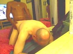 gay bareback blowjob cum tribute