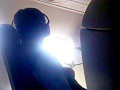 homemade blow-job blowjob flight