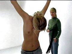 bdsm blondes tchèque femdom petits seins