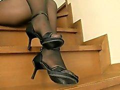 amateur foot fetish nylon