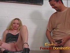 cfnm femdom foot fetish mistress