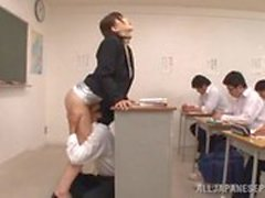 studente insegnante aula