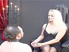 bdsm blonde femdom