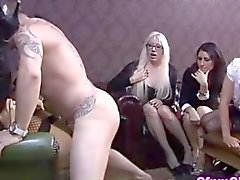 anal femdom group blonde