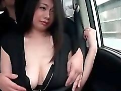 asian brunette japanese outdoor public