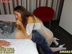 amateur lingerie german