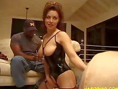 hardcore big tits interracial