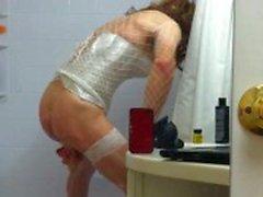 amateur solo lingerie homemade