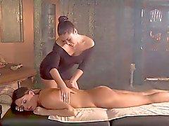 asian lesbians massage