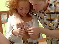 ass-fuck teenager young redhead