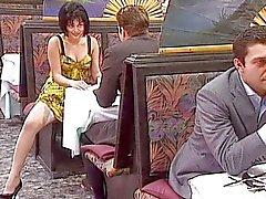 Rita Cardinal Wife gangbanged in restaurant