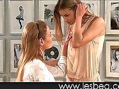 lesbisch masturbatie orale seks tiener brunette