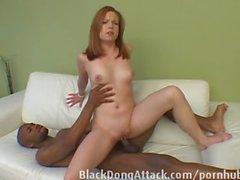 blackdongattack big-cock black redhead gag