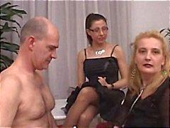 sexo em grupo italiano amadurece