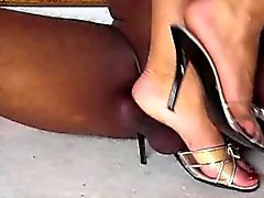 ballbusting femdom foot fetish