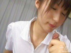 азиатский медсестры равномерный медсестра