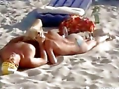 beach blowjob hiddencam