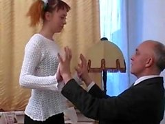 amateur lick old young redhead russian