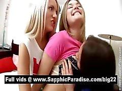 amazing tits babe cute innocent lesbian