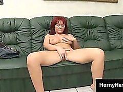 big boobs masturbation milf redhead
