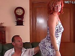 blowjob doggystyle fingering mature redhead