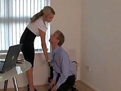 blondes femdom foot fetish