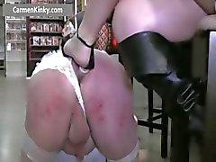 anal bdsm esclavage