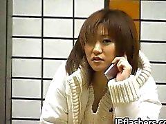 solo girl asian public
