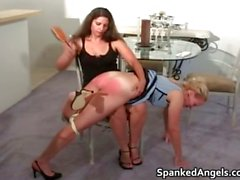 ass babe blonde fetish punished