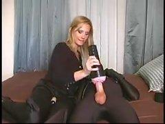 handjobs femdom mistress slave humilation