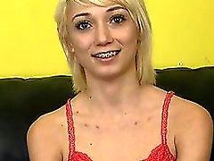 anal arsch blondine