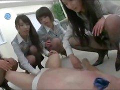 ballbusting japanese cbt femdom ballkicking ball kicking shoe worship high