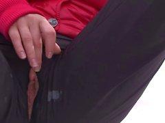 masturbation nudité en public étudiante
