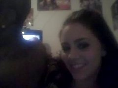 homemade first timer webcam couple