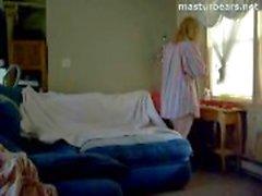 mastürbasyon redhead yapay penis oynuyor orgazm