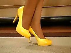 masturbation nylon stockings