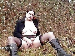 alyss bdsm bound public slave disgrace exhibitionism